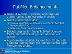 pubmed enhancements2