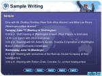 sample writing2