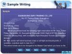 sample writing6