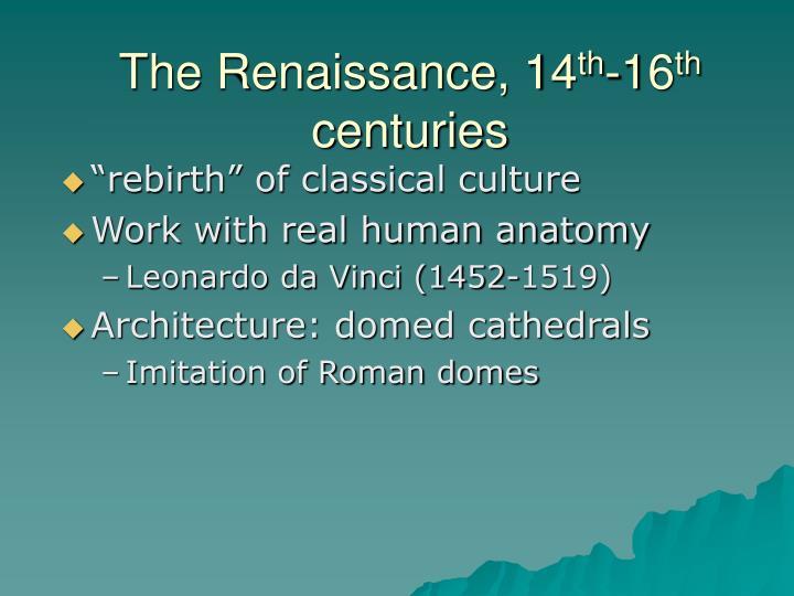 The Renaissance, 14
