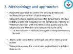 2 methodology and approaches