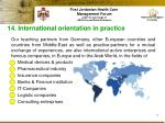 14 international orientation in practice