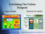 calculating our carbon footprint1