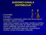 sudionici kanala distribucije