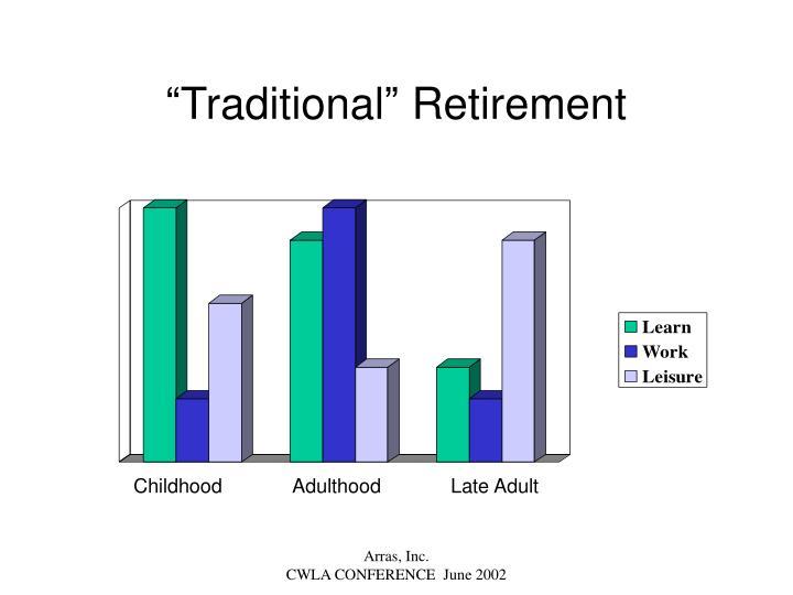 """Traditional"" Retirement"