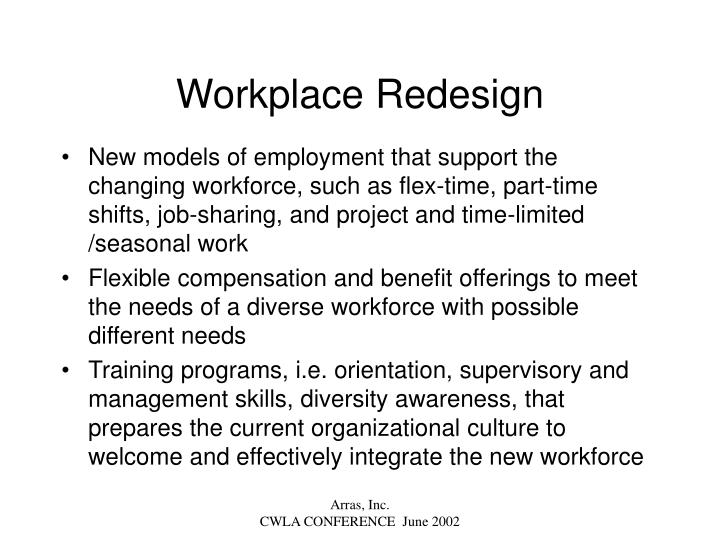 Workplace Redesign