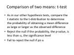 comparison of two means t test5