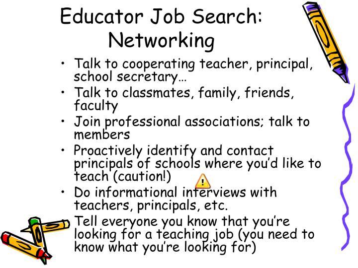 Educator Job Search: