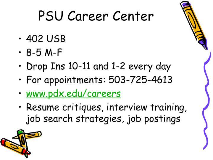 PSU Career Center
