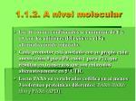 1 1 2 a nivel molecular1