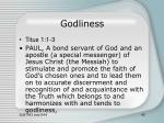 godliness27