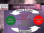 core concerns