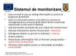 sistemul de monitorizare