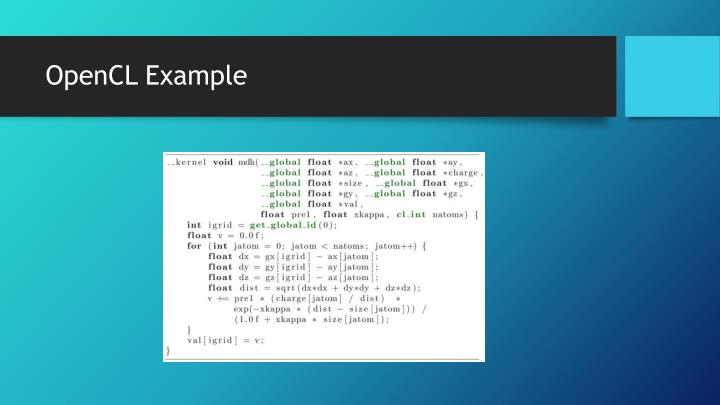 OpenCL Example