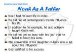 lessons learned from noah as a father5