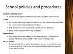 school policies and procedures1