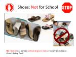 shoes not for school