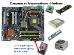 computers en systeemsoftware hardware5