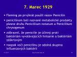 7 marec 1929