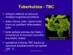 tuberkul za tbc