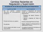 cambios recientes en regulaci n y supervisi n2