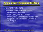 area chair responsibilities1