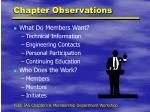 chapter observations1