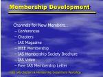 membership development1