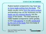 axial and radial lead mounting differences 3 25