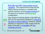 dip and sip components 3 64