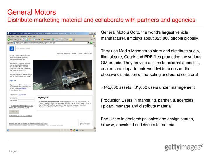 Ppt getty images media manager expert digital asset for General motors asset management corp
