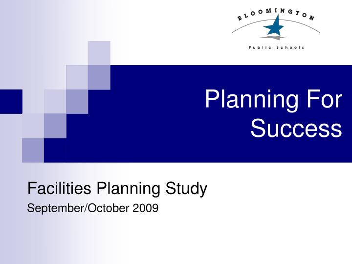 planning for success n.