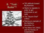 b trust buster
