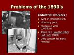 problems of the 1890 s1