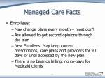 managed care facts