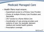 medicaid managed care