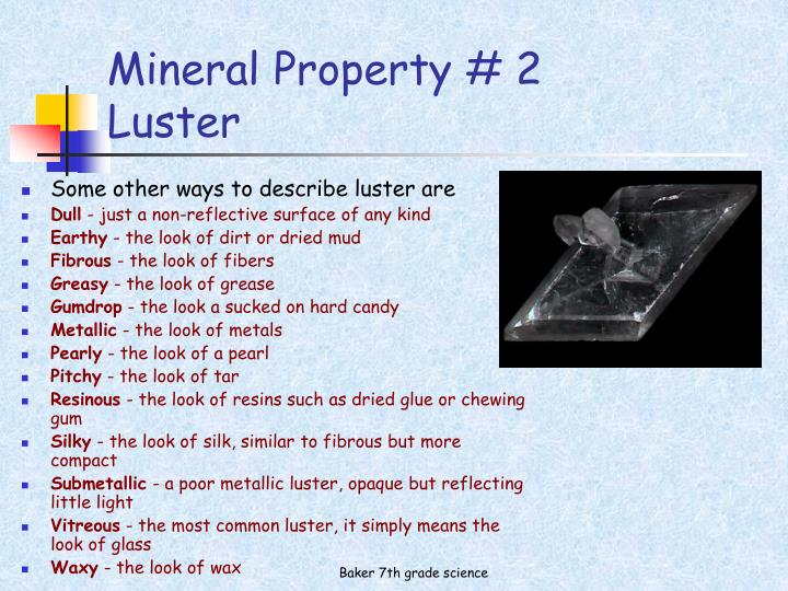 Mineral Property # 2