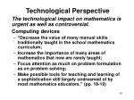 technological perspective