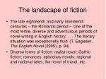 the landscape of fiction
