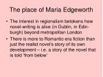 the place of maria edgeworth3
