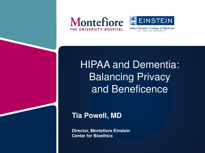 hipaa and dementia balancing privacy and beneficence n.