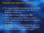 request and response protocols2