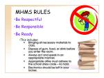 mhms rules