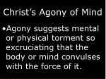 christ s agony of mind