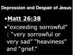 depression and despair of jesus8