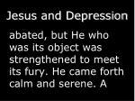 jesus and depression1