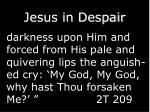 jesus in despair1