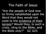 the faith of jesus1