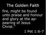 the golden faith3