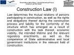 construction law i